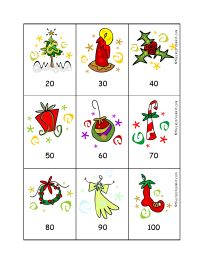 parent directory _notes christmas 2 digit numbers card gamejpg - Christmas Card Games