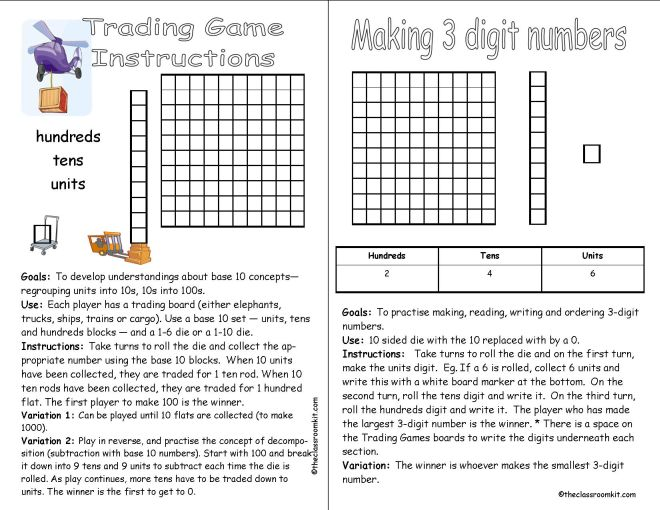trading games instructions
