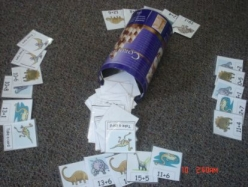 numeracy resources dinosaur sums game